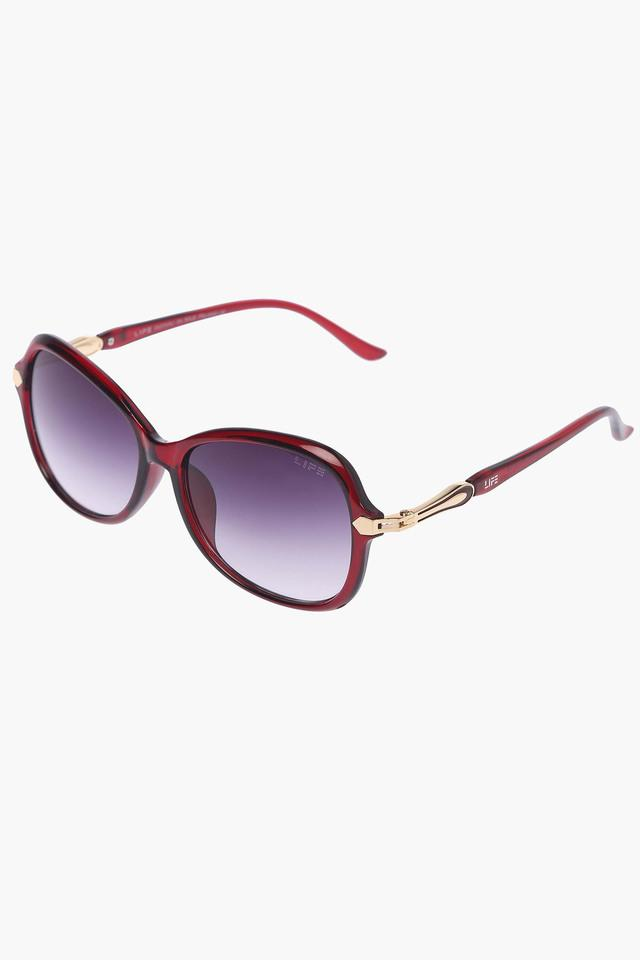 Womens Non Polarized Butterfly Sunglasses - LIO38C56