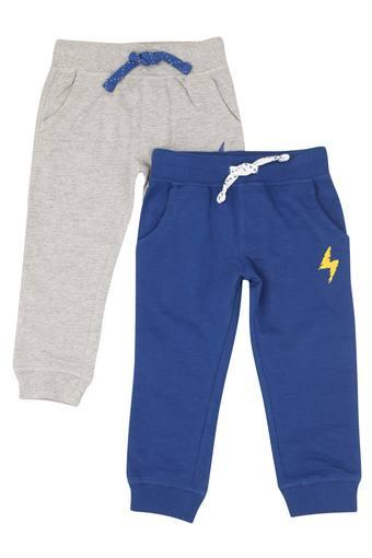 Boys 3 Pocket Slub Joggers - Pack of 2