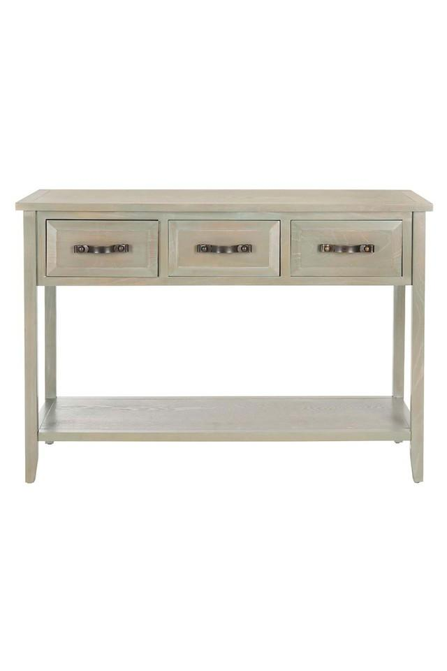 White Aly Console Table