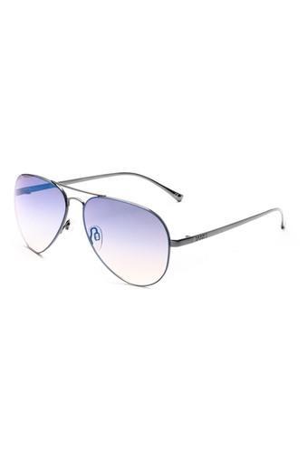 Unisex Full Rim Aviator Sunglasses - 2128 C3 S