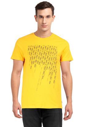3c1ae71985b X JACK AND JONES Mens Round Neck Graphic Print T-Shirt