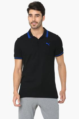 PUMAMens Solid Polo T-Shirt - 203419700