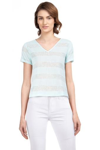 ZINK LONDON -  Mint Tops & Tees - Main