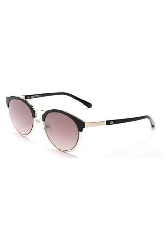 Womens Full Rim Round Sunglasses - 2036 C1 S