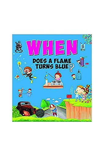 When Does a Flame Turns Blue?