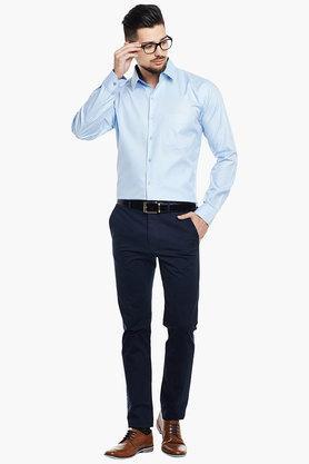 Mens Slim Fit Striped Shirt