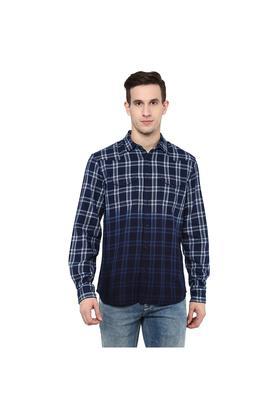 Mens Regular Fit Check Shirt