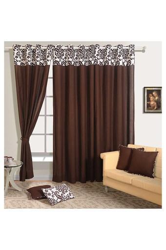 Solid Long Door Curtain
