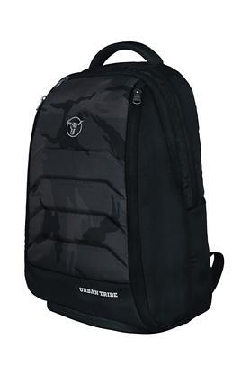 Unisex Tribe Black Laptop Gym Backpack/ FitPack