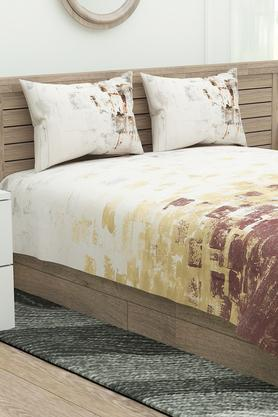Printed Premier Double Bed Sheet with Pillow Covers