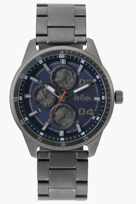 Mens Analogue Blue Dial Metallic Watch - LC06593090
