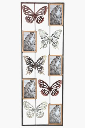IVY Butterfly Frame Metal Wall Art