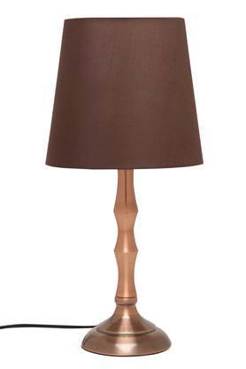 Elixa Antique Copper Electrical Table Lamp