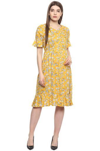 FRATINI WOMAN -  YellowDresses - Main