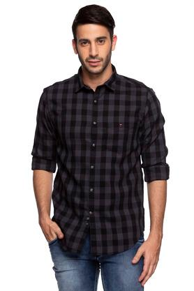 73a050f9704 X LOUIS PHILIPPE SPORTS Mens Slim Collar Check Shirt. LOUIS PHILIPPE SPORTS