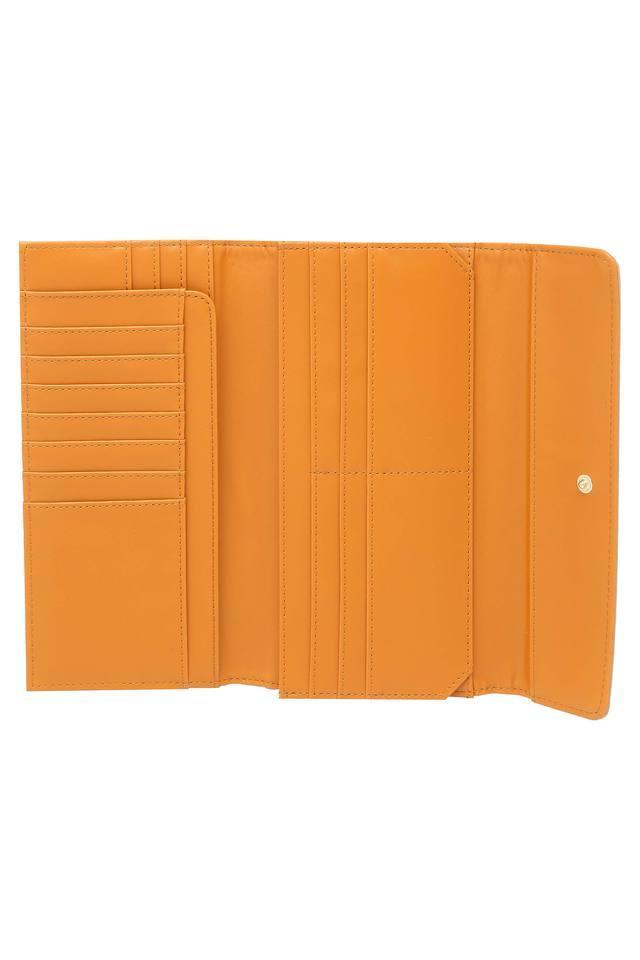 Womens Snap Closure 2 Fold Wallet