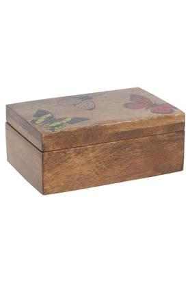 BACK TO EARTH Butterfly Print Box - 10 X 15 X 5 Cms