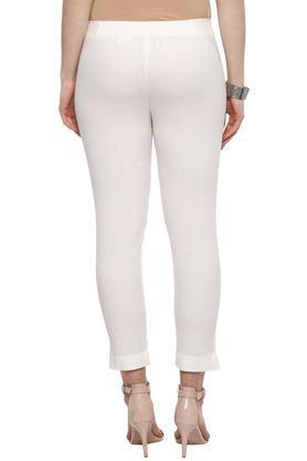 Womens Slub Pants
