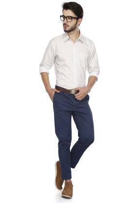 RS BY ROCKY STAR - White Formal Shirts - 3