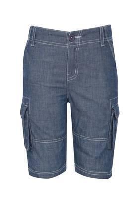Boys 6 Pocket Slub Shorts