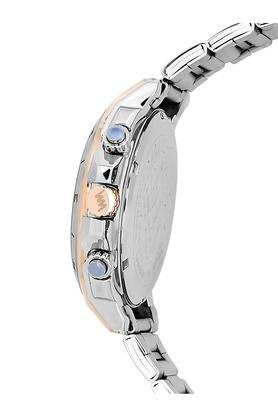 Mens Black Dial Stainless Steel Multi-Function Watch - LWMI147C