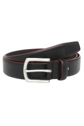 VETTORIO FRATINI Mens Leather Buckle Closure Casual Belt - 203823461
