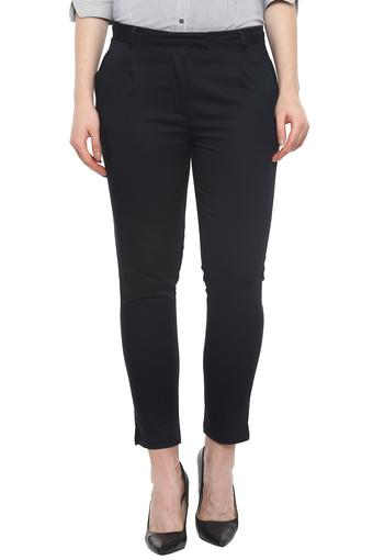 FRATINI WOMAN -  Navy Trousers & Pants - Main