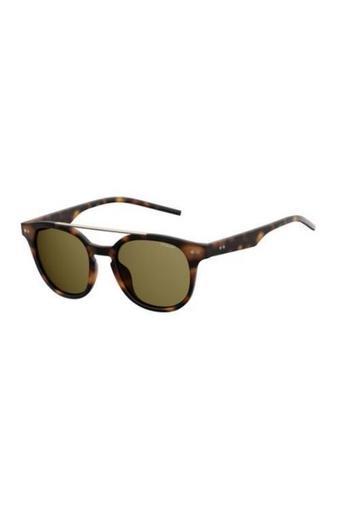 Unisex Browline Polarized Sunglasses