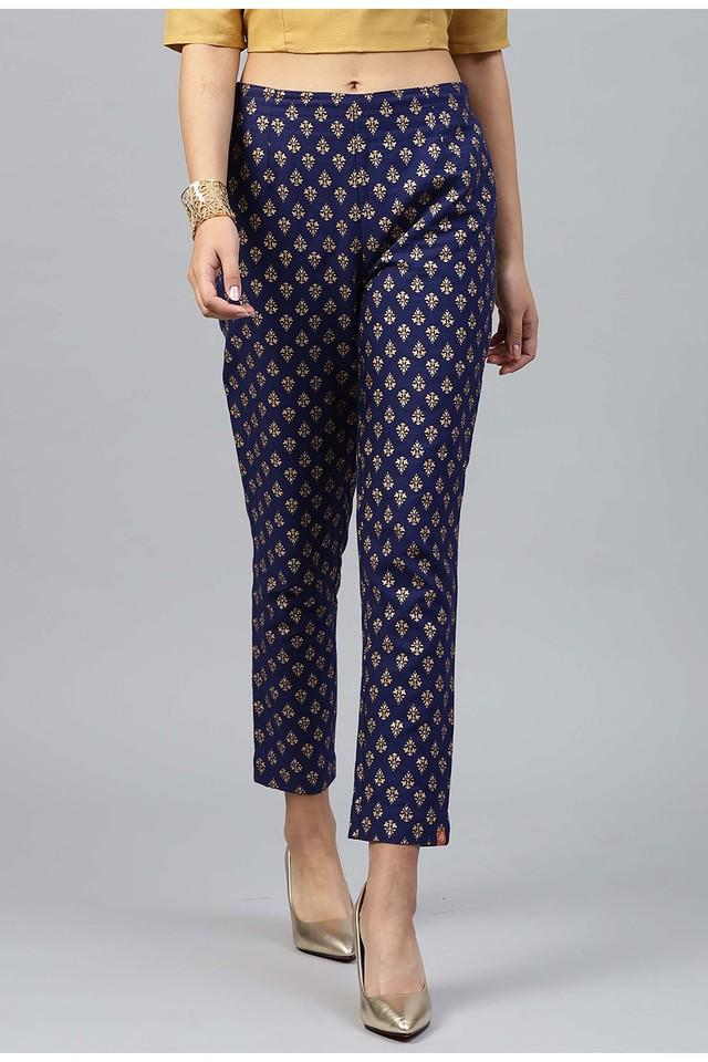 Womens Printed Party Wear Pants