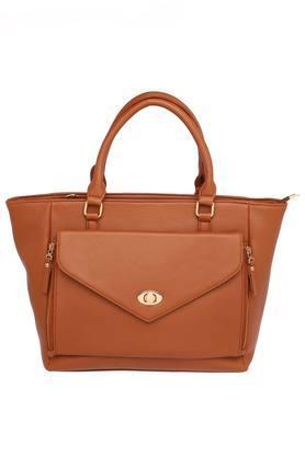 ELLIZA DONATEINWomens Zipper Closure Satchel Handbag - 204769452_9124