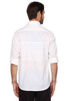 Mens Slim Collar Stripe Shirt
