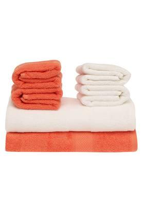 Solid Towel Set - Pack of 6
