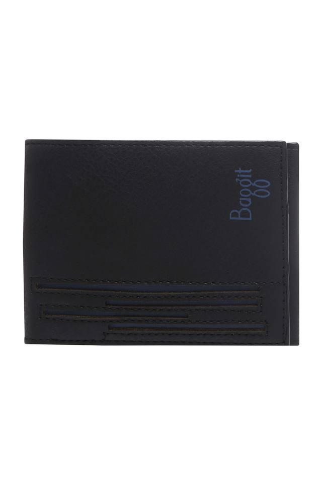 Mens Leather 1 Fold Wallet