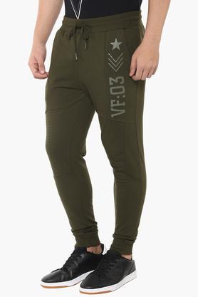 Mens 3 Pocket Printed Track Pants