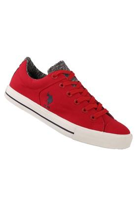U.S. POLO ASSN. Mens Lace Up Sneakers