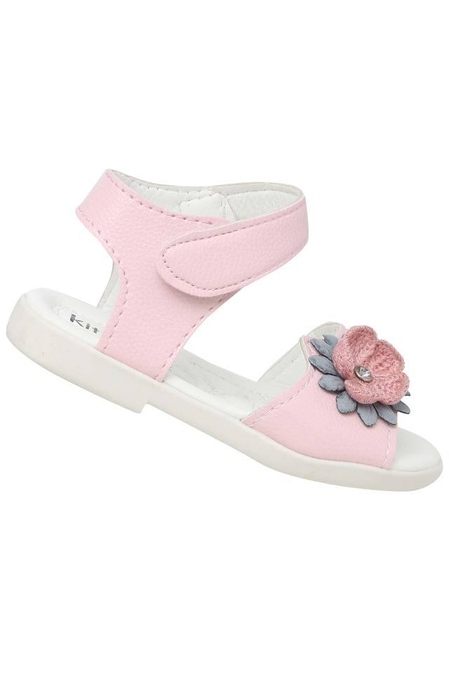 Girls Casual Wear Velcro Closure Sandals