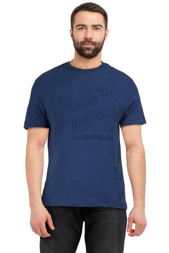 U.S. POLO ASSN. DENIM -  Navy T-shirts - Main