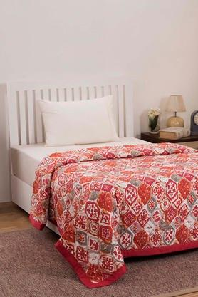 MASPARPrinted Single Quilt With Pillow Covers
