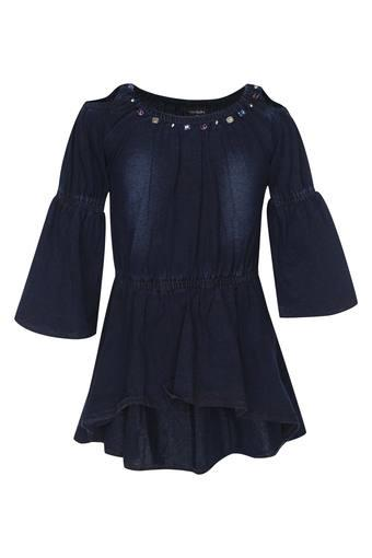 TINY GIRL -  Dark Blue Dresses & Jumpsuits - Main