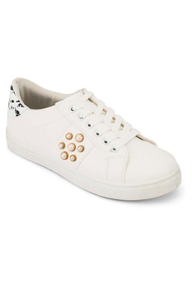 Womens Casual Wear Lace Up Sneakers