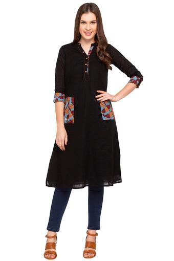 STOP -  Black Kurtas - Main