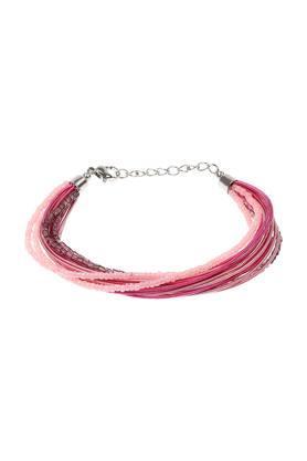 Womens Sliver Plated Beads Bracelet