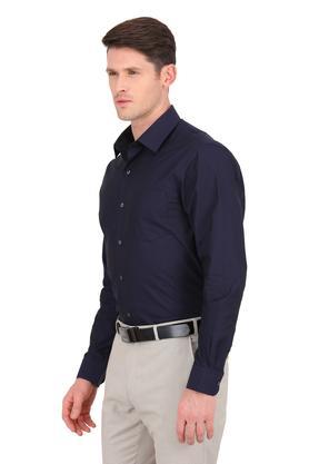 Mens Self Printed Formal Shirt