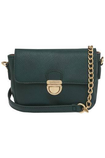 2a9258c28 Buy CAPRESE Womens Metallic Lock Closure Sling Bag
