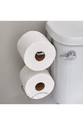 Classico Steel Double Roll Toilet Paper Holder