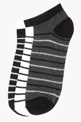 STOP Mens Stripe Socks Pack Of 3