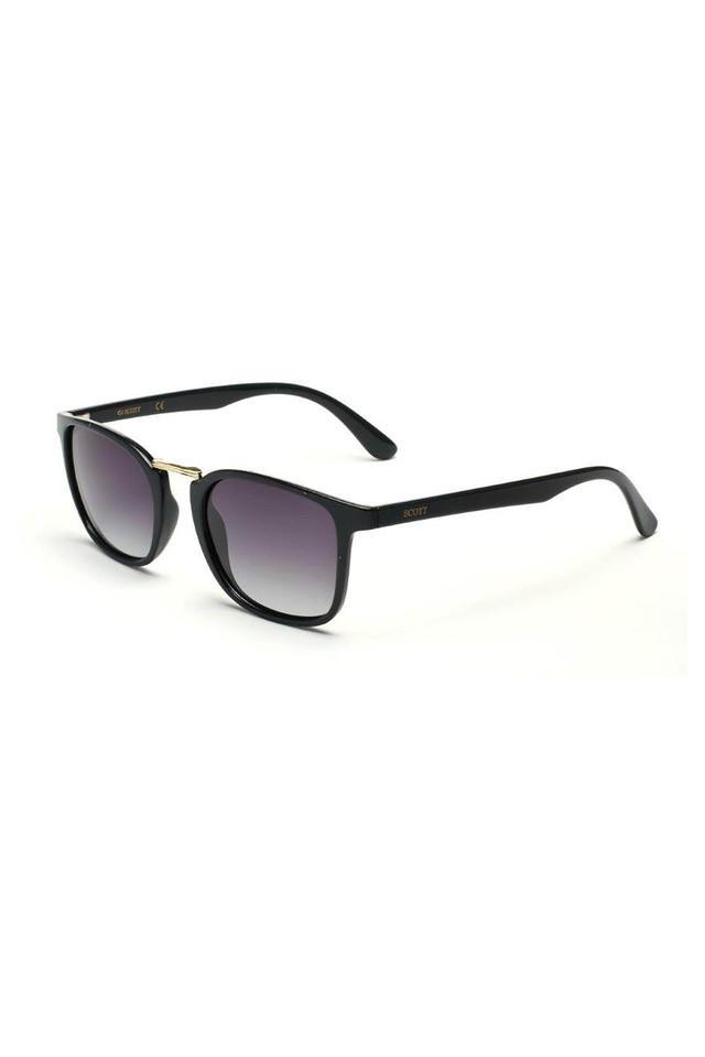 Unisex Full Rim Wayfarer Sunglasses - 2078 C1 S