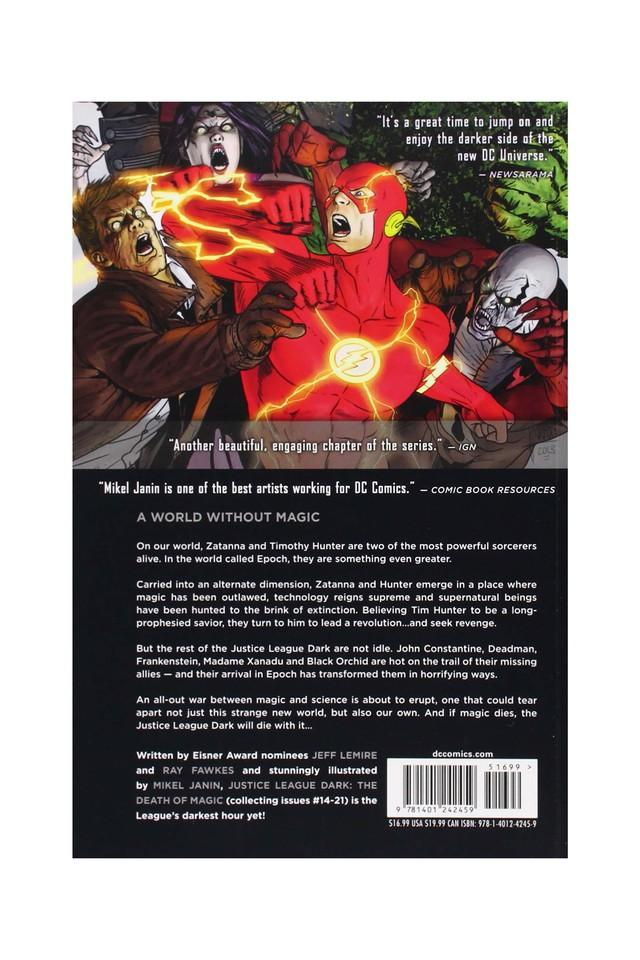 Justice League Dark (The New 52): The Death of Magic: 4 (Jla (Justice League of America) (Graphic Novels))