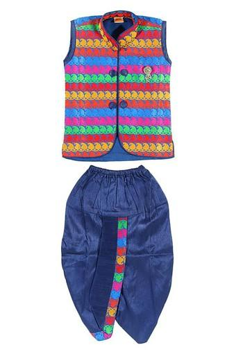 Boys Printed Party Wear Dhoti Kurta