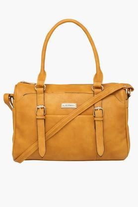 ELLIZA DONATEINWomens Zipper Closure Satchel Handbag